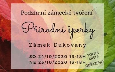 Podzimní zámecký workshop